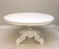 french antique carved oval dining table