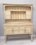 Old Painted Oak Kitchen Dresser