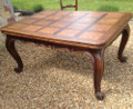 old french large dining table