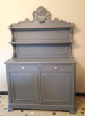 old french st hubert dresser