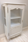 OLD FRENCH DISPLAY CUPBOARD