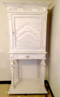 french antique decorative cupboard