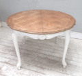 vintage french louis xv round dining table