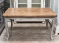 old french extending dining table