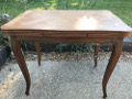 old small french dining table