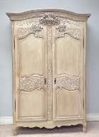 french antique Normandy Marriage Armoire