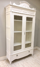 french antique armoire / display