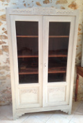old french vitrine