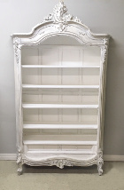 french antique bookcase / display