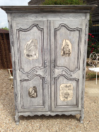 french antique LXV armoire
