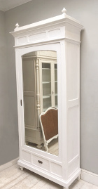 french antique Henri II style single door armoire