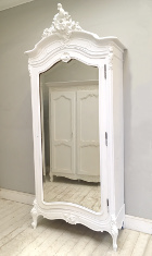 single door roroco armoire