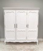 vintage french 3 door armoire