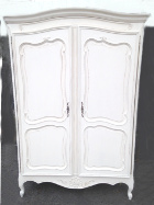 old french 2 door armoire