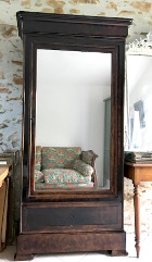 FRENCH ANTIQUE LOUIS PHILIPPE ARMOIRE