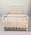 french antique 4ft bed