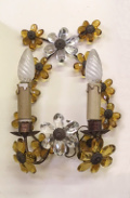 old french double wall sconce