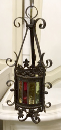 small french antique lantern