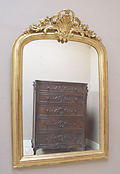 stunning antique french mirror
