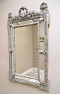 stunning french antique mirror
