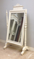 french antique cheval mirror