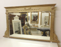 old french overmantle mirror