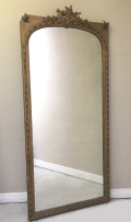 tall french antique Louis XVI mirror