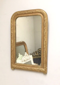 french antique small mirror