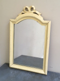 french antique dressing table mirror with bow