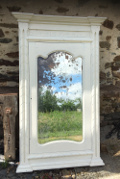 tall french antique mirror
