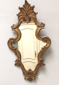 french antiqu shaped mirror