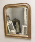 french antique louis philippe rope twist mirror