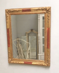 french antique Overmantle Mirror