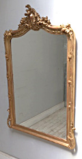 french antique rococo mirror