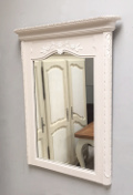 old French provencal style mirror