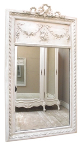 french antique trumeau mirror