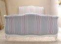 frenchfinds lit bateau romo fabric painted bed